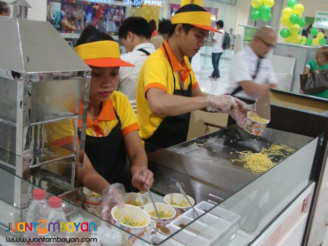 FOOD CART FRANCHISE,DIMSUM,HONGKONG NOODLES ETC...