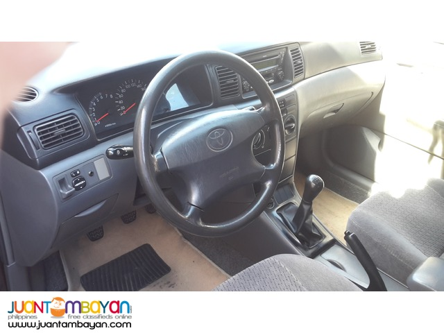 2007 Toyota Corolla Altis
