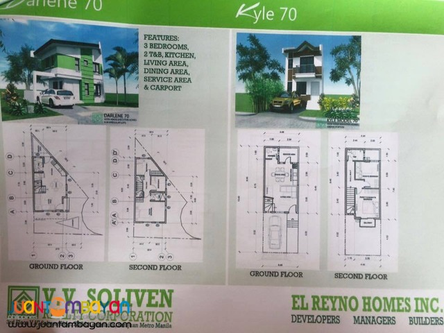 House and lot at Greenheight Executive Homes