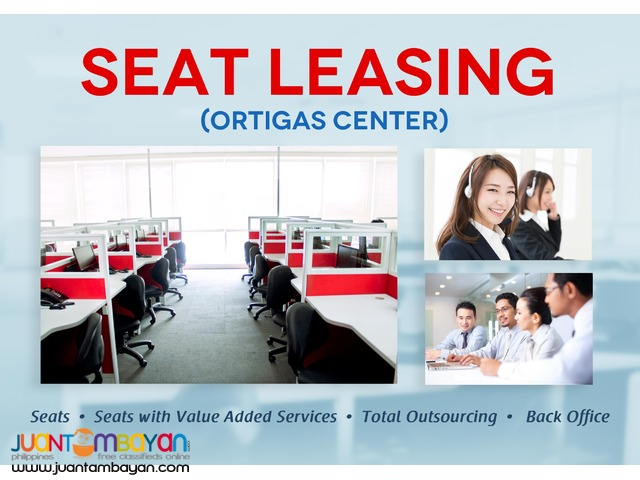 Call Center Seat Leasing in Ortigas Center Pasig City
