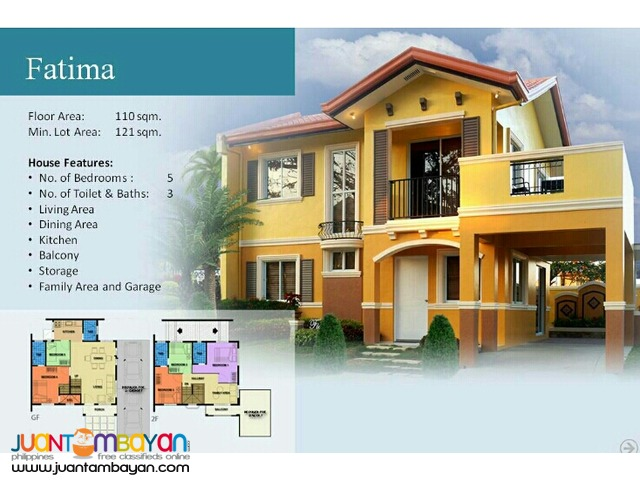 Camella Homes Fatima Model at The Island Dasmarinas Cavite