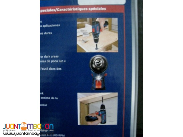 Bosch PS31-2ALPB 12-Volt Drill/Driver w/ Radio