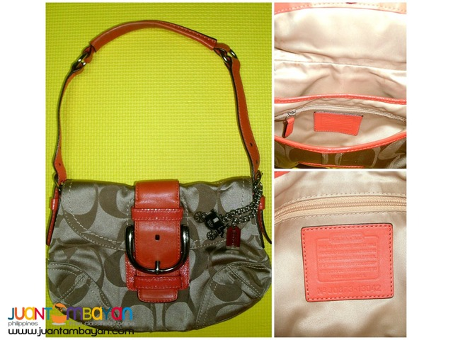COACH Soho Tan Brown Purse Handbag