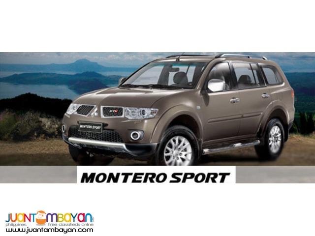 Montero Sport For Rent
