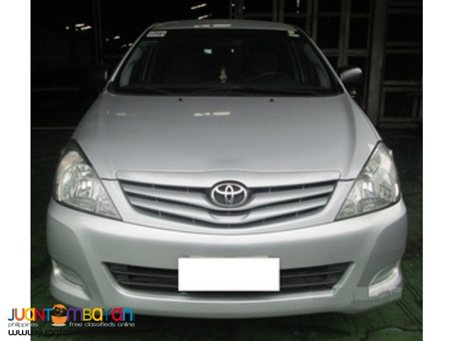 rent a car- Toyota Innova