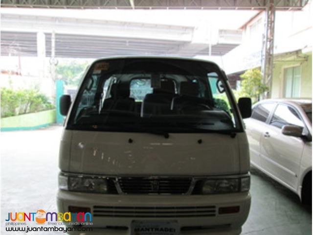 rent a car- Nissan Urvan