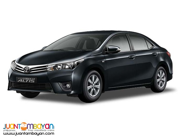Toyota Altis Sedan For Rent