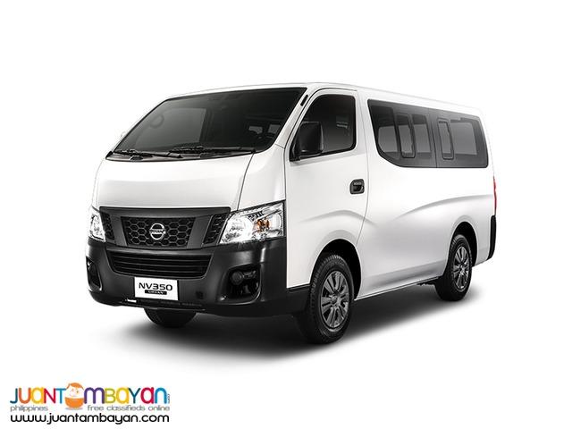 rent a car *Nissan Urvan