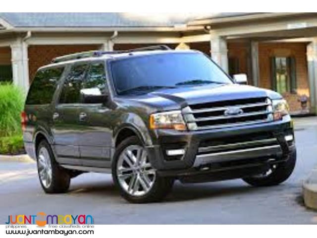 Ford Expedition FOR RENT