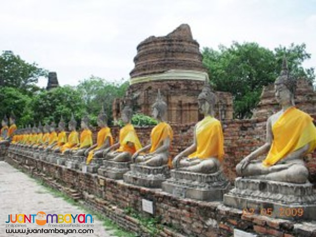 Bangkok tour package, wholeday trip to Ayutthaya