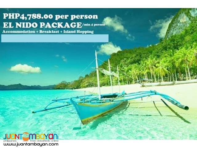 EL NIDO PACKAGE TOUR