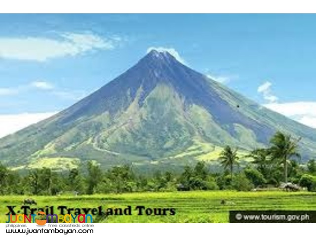 Legaspi Package Tour and Mayon Lava Bed Adventure