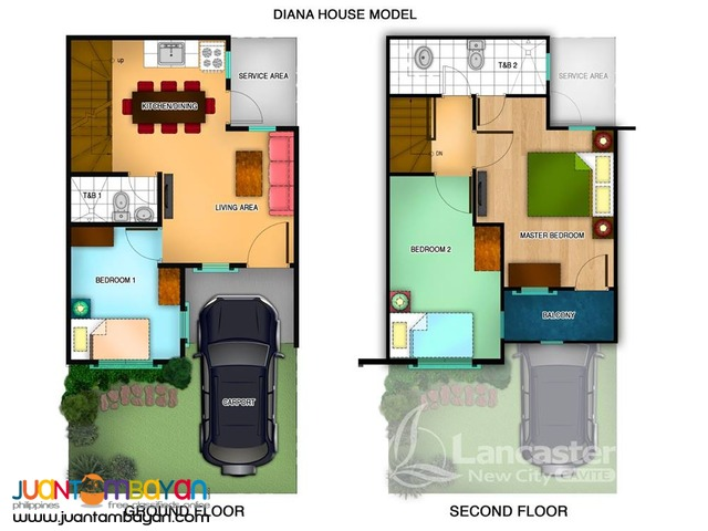 House and Lot for as low as 12k a month
