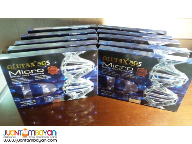 New Promo Price : Glutax 5GS Php 2300