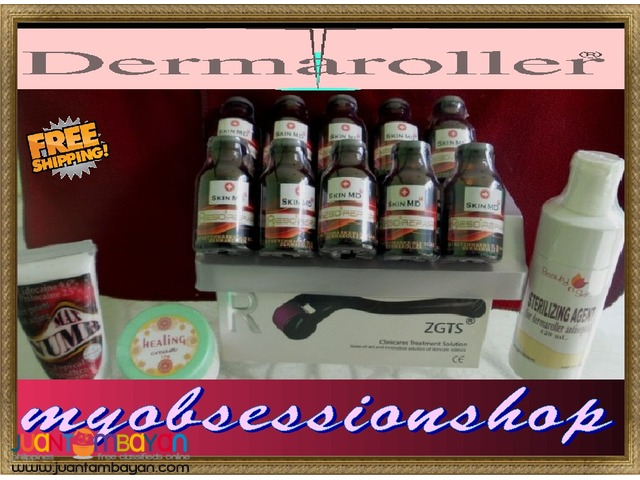 Package good for 20-30 sessions : Dermaroller for Body Scar