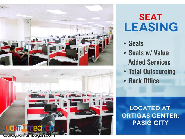 BPO Call Center Seat Lease Space in Ortigas Pasig City