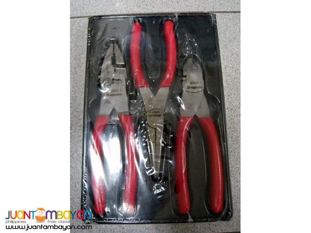 Snap-On PL300CF 3-piece Cutters/Pliers Set