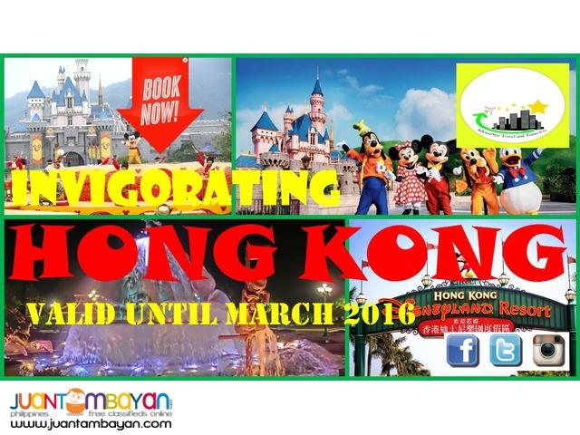 INVIGORATING HONGKONG