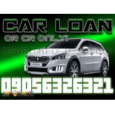 Easy car loan OR CR sangla re-financing sure approval!