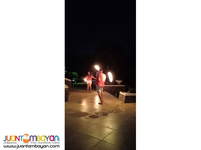 fire poi Dancing for events