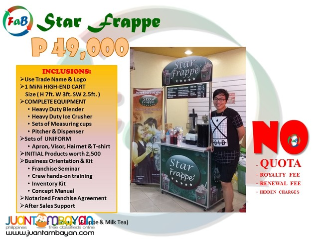 Star Frappe and Gulaman Corner