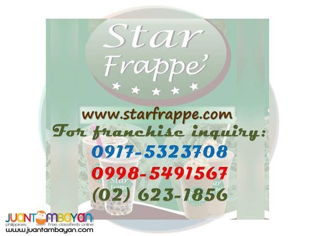 Star Frappe Kiosk Business Franchise
