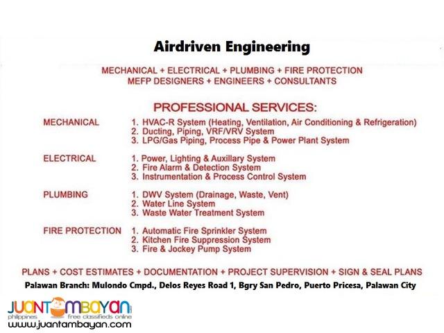 MEPF Designer/Consultant/Contractor