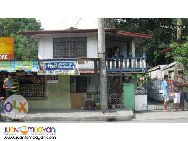 House and lot located at the boundary of C5 and Pasig for 13M