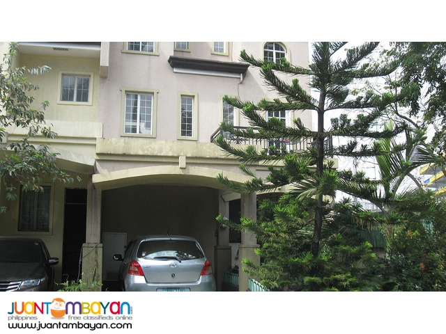 Lexington,San Joaquin,Pasig townhouse for sale Php 7M