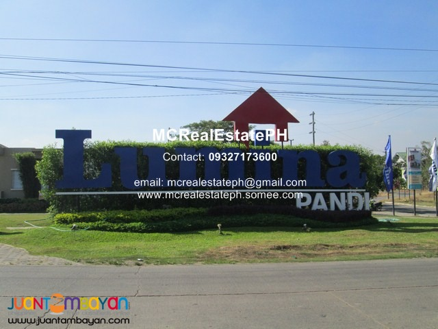 Lumina Homes in Pandi Bulacan Rent to Own House and Lot thru PAG-IBIG