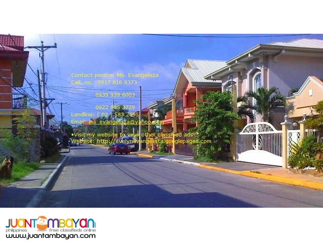 Vermont Park Exec. Village Phase 4 Brgy. Mayamot Antipolo City