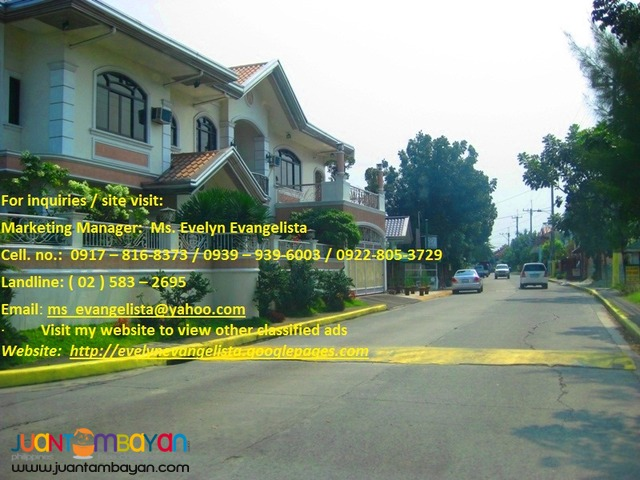 Meadowood Exec. Village Phase 3B Bacoor Cavite