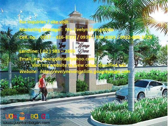 The Mango Grove Res. Estates Sto. Toma Batangas