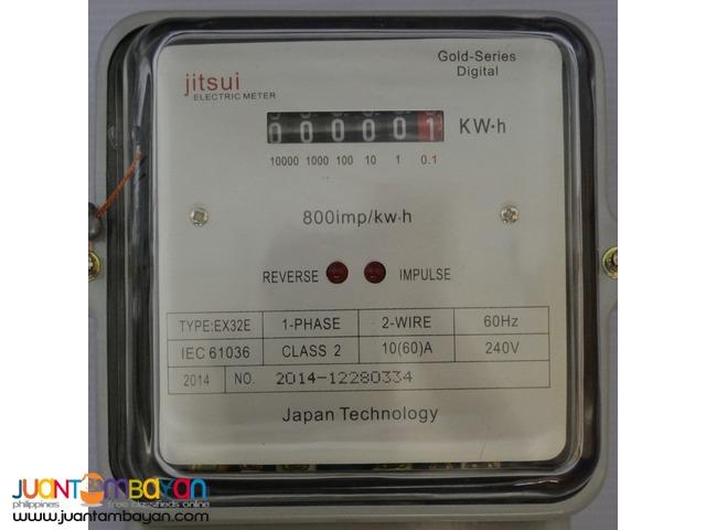 Jitsui Electric Meter Electronic Display (60Amp)