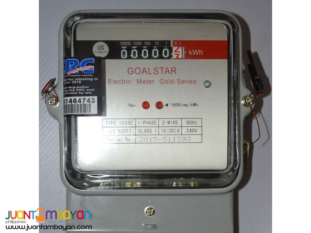 GOALSTAR Electric Meter Electronic Display (GS88E-30Amp)