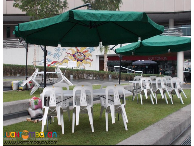 5+1 Umbrella Tents/ 3x3m Open tents for events