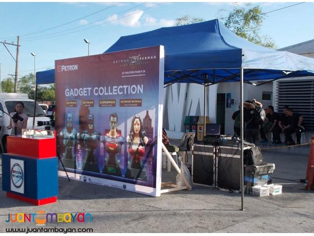 5+1 Umbrella Tents/ 3x3m Open tents for events