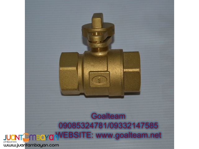 1″ Brass Ball Valve