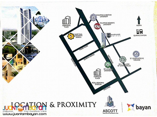 HARVARD SUITES-AFFORDABLE CONDO ALONG TAFT AVENUE