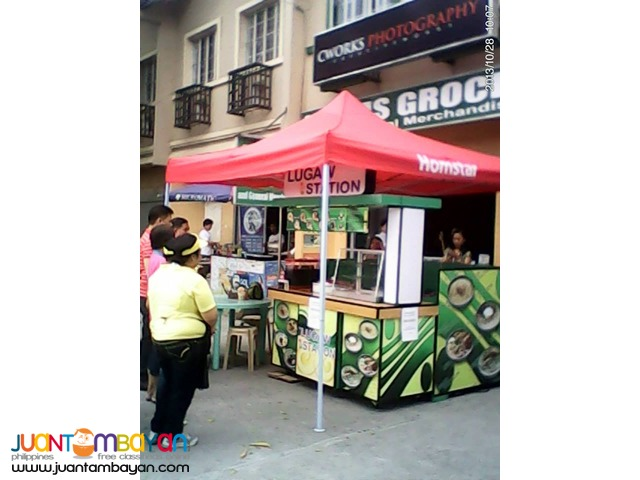 food cart franchising lugaw,sisig,pares,