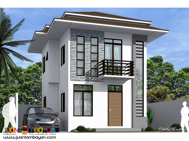 House Single Detached as low as P22,028k monthly amort in Mandaue