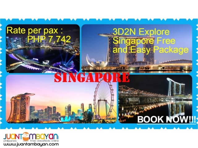 3D2N Explore Singapore Free and Easy Package
