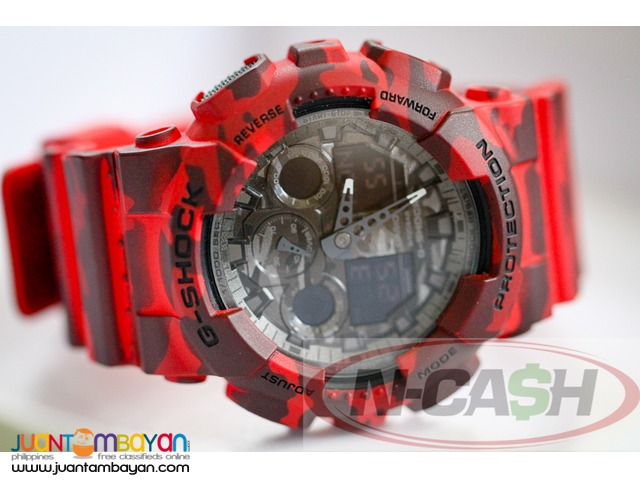 N-CASH Watch Pawnshop Philippines - Casio G-Shock GA100CM-4ADR
