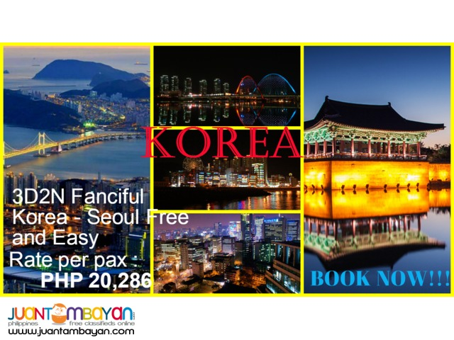 3D2N Fanciful Korea - Seoul Free and Easy