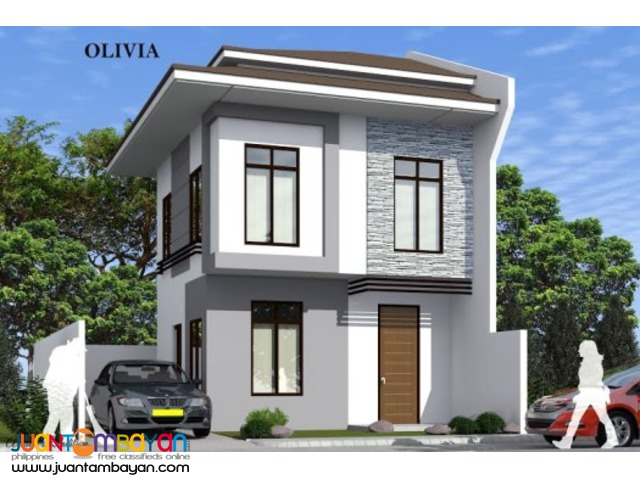 House Single Attached as low as P18,620k monthly amort in Mandaue