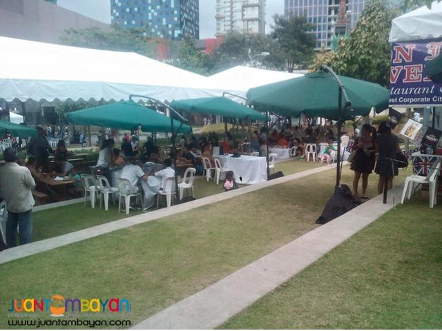 10 umbrella tents for summer activities