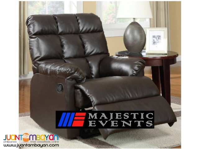Elegant Recliner's Chair for rent