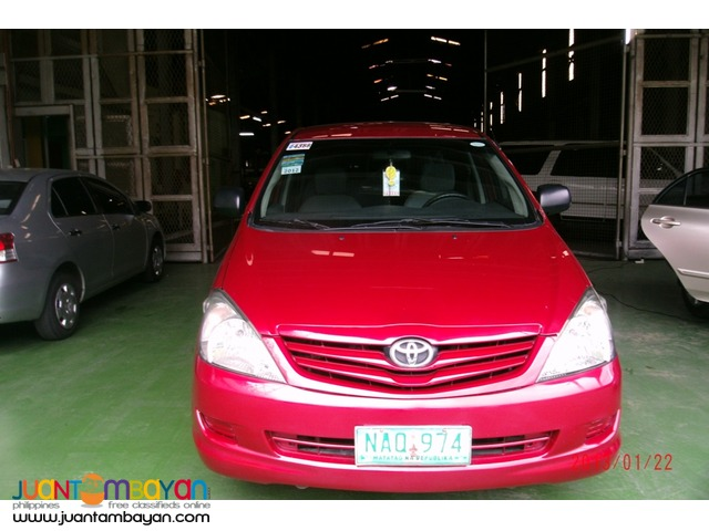 rent a car > toyota innova