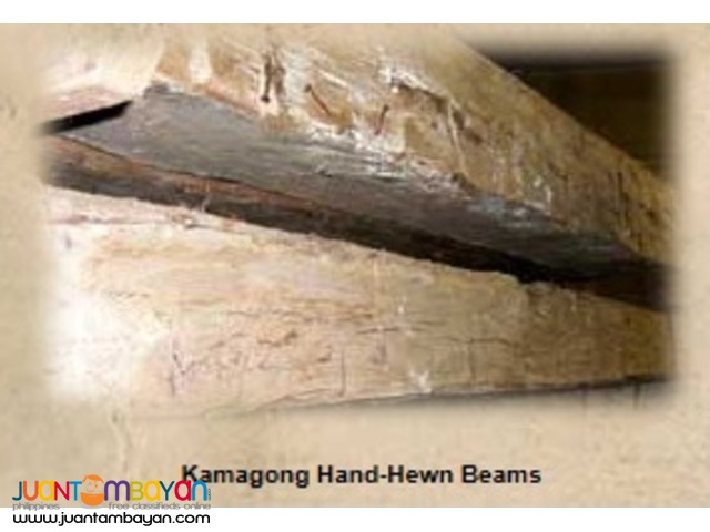 Century-Old Solid Posts/Beams