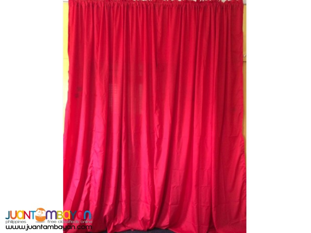 Red Curtain for different kinds of Events